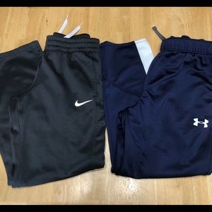 Lot of 2 boys Athletic pants size Youth Large